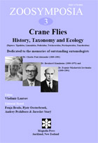 Zioosymposia 3: Crane flies—history, taxonomy and ecology (Diptera ...